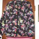 Womens Requirements Love Letters Floral Jacket M