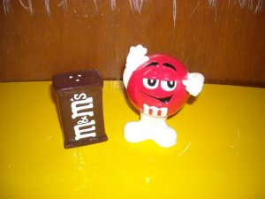 M & M Salt and Pepper Shakers