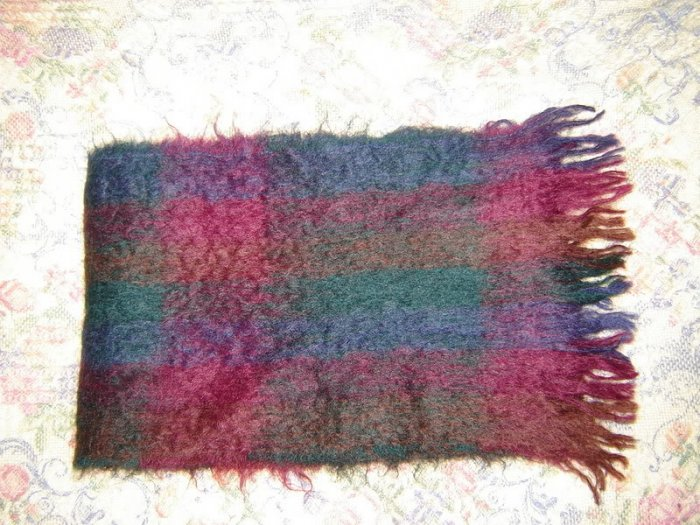 Womens Mohair Winter Scarf