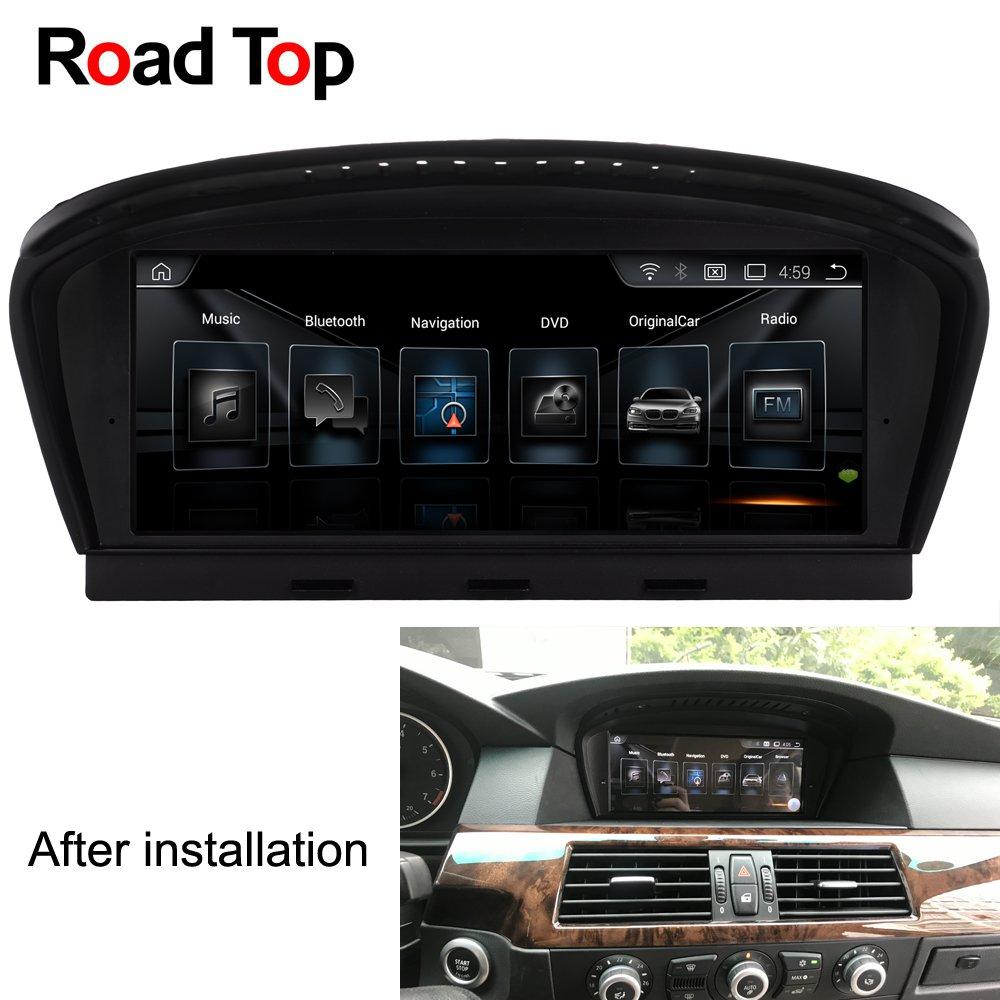 "Bmw 5 Series E60 E61 M5 Gps Navigation Head Unit: 8.8"" Android Car Radio Bluetooth GPS Navigation Head Unit"
