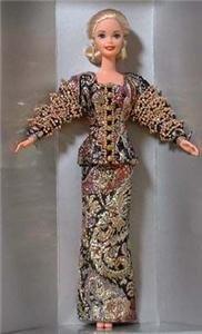 Christian Dior 1995 Barbie Doll NRFB GOLD Label