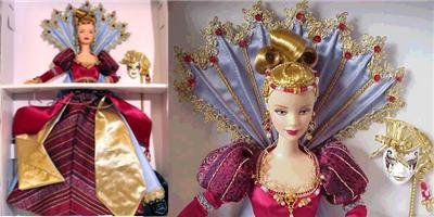 MINT 2000 VENETIAN OPULENCE Barbie MASQUERADE GALA COLLECTION *LIMITED EDITION*