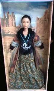 2004 Navajo Native American Princess Dolls of the World Indian Barbie