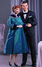 50th Episode Barbie & Ken Gift Set I LOVE LUCY & Ricky Enceinte