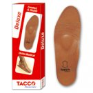 Tacco Deluxe Orthotic Foot Shoes Insoles Arch Support