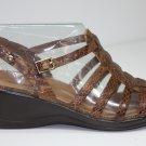 Easy Spirit LEXA Sandals BROWN Shoes US 7.5 $49.99