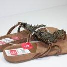Nine West HADES Sandals BRN/COPPER Shoes US 6 $69