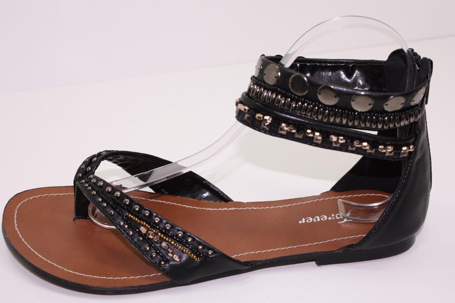 New Style Sandals Thongs Strappy Beaded Rhinestone