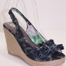 New Sandals Open Toe High Heels Slingback Strappy 5~10