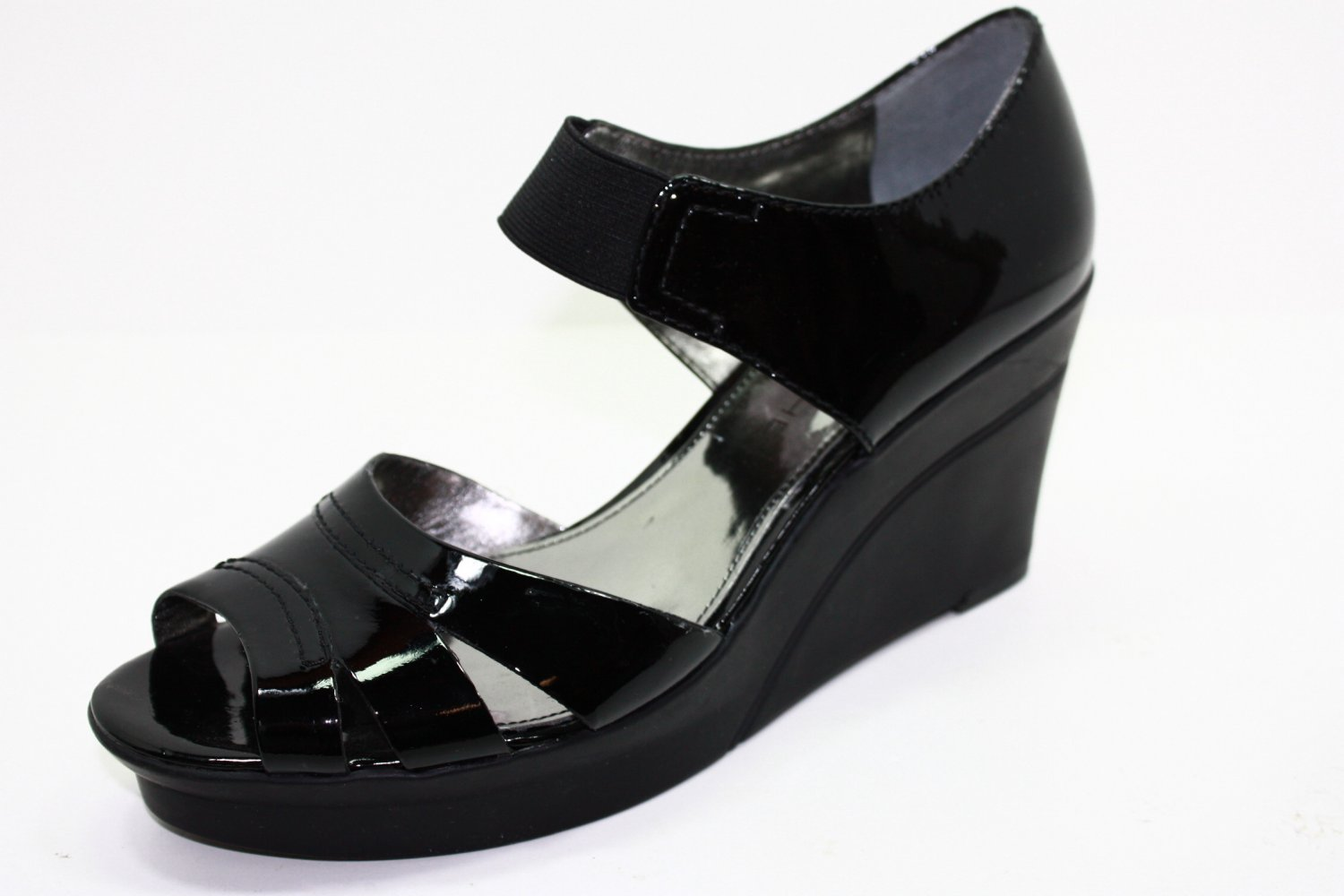 Marc Fisher TIZZY Sandals BLACK Womens Shoes 8.5