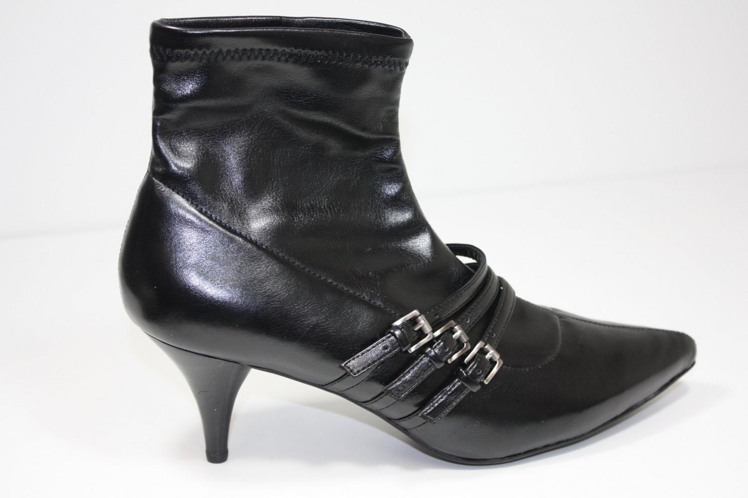 BCBG Sandy Bootie Ankle Boots Black Shoes US 11 $119