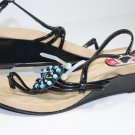 STYLE&CO SASHAY Sandals Black Shoes US 10 $59