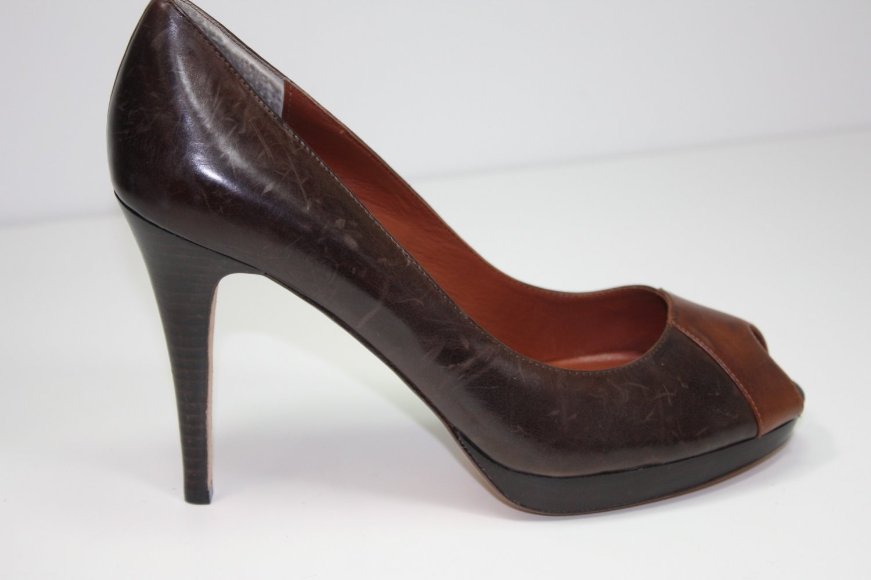 Max Studio Xecutive Pumps Brown Shoes US 10 $165