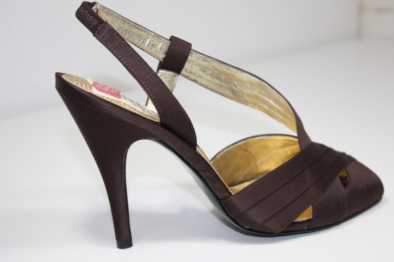 Nina  Aggy Pumps Dark Brown Shoes US 7.5 $79