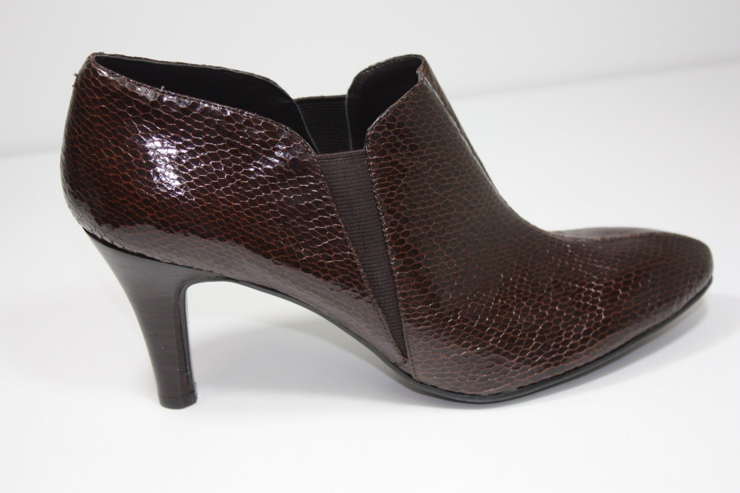 Bandolino Daija Ankle Boots Brown Shoes US 9.5 $89