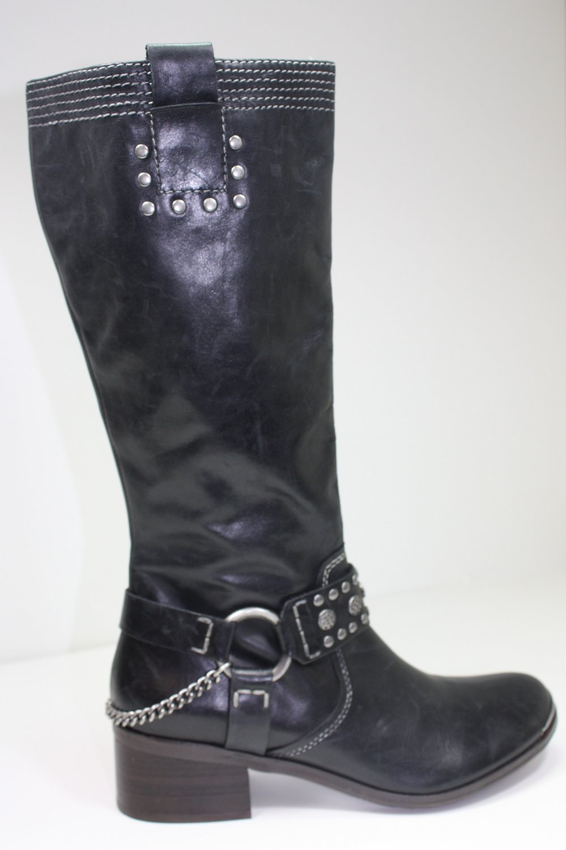 BIVIEL ASPEN Boots BLACK Shoes US 8 $290