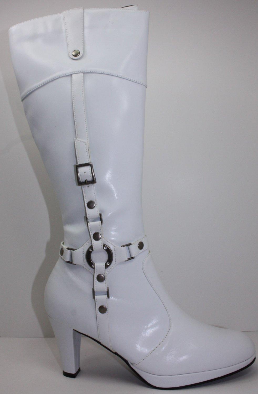New High Heel Boots With Zipper Platforms Pumps 5~10