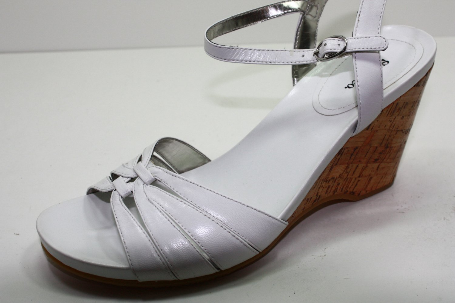 Style & Co POLLY Sandals WHITE Womens Shoes 8.5
