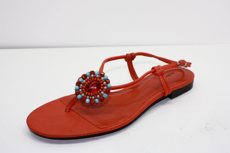 Style & Co JASPER Sandals ORANGE Womens Shoes 7.5