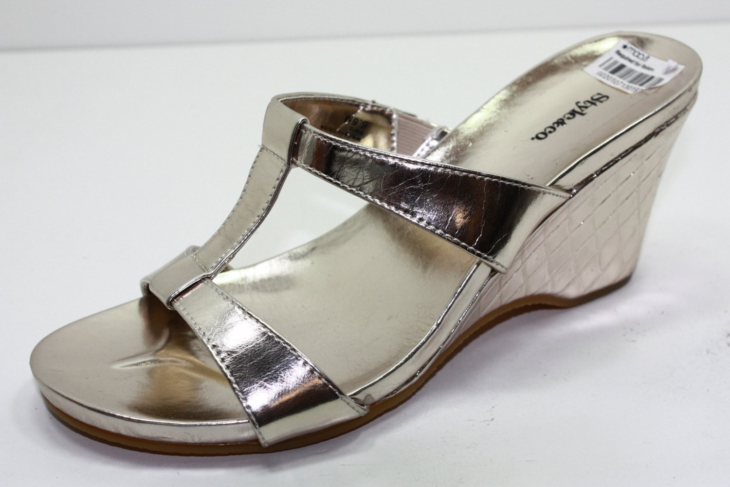 Style & Co H-STRAP Sandals GOLD Womens Shoes 6.5