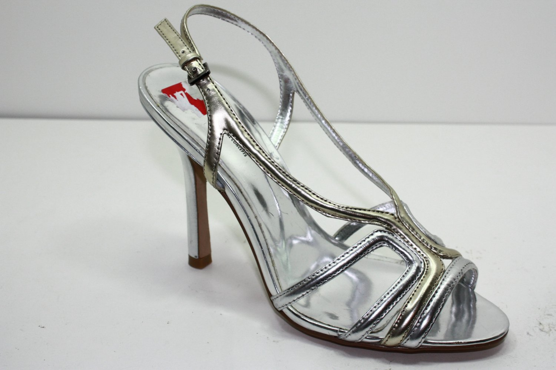 Inc HAYZEL Pumps SILVER Womens Shoes 5.5