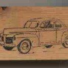 1948 mERCURY cAR aUTOMOBILE Rubber Stamp