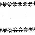 Border Frame Rubber stamp