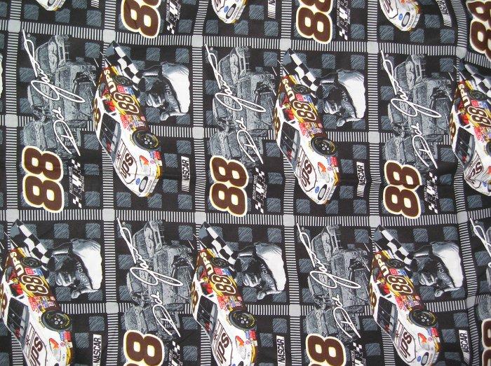 Dale Jarrett 2002 Nascar fabric UPS 1 yard