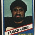 1976 Wonder Bread Football card #3 Franco Harris Steelers