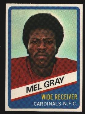 1976 Wonder Bread Football card #4 Mel Gray Cardinals