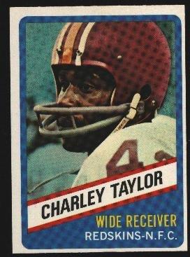 1976 Wonder Bread Football card #5 Charley Taylor Redskins