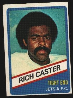 1976 Wonder Bread Football card #6 Rich Castor Jets