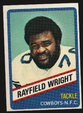 1976 Wonder Bread Football card #8 Rayfield Wright Cowboys