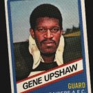 1976 Wonder Bread Football card #9 Gene Upshaw Raiders