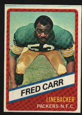1976 Wonder Bread Football card #19 Fred Carr Packers