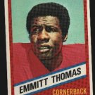 1976 Wonder Bread Football card #22 Emmitt Thomas Chiefs