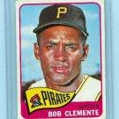 1965 Topps Baseball # 160 Bob Clemente Card Pirates