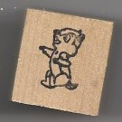 Chipmunk animal cute small rubber stamp