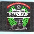 Morechamp Lager Beer Label 12oz.