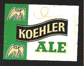 Koehler  Ale Label 16oz.