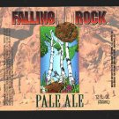 Falling Rock Pale Ale Label 12oz