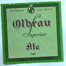 OLBRAU Supior Ale Label 32oz