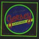 JERSEY Lager Beer Label12oz.