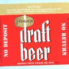 MUHLHEIM Draft Beer Label 32oz.