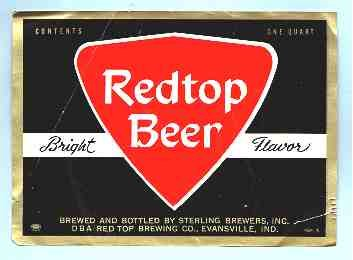 REDTOP Beer Label 32oz