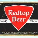 REDTOP Beer Label 32oz