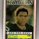 1983 Topps F.B. MARCUS ALLEN Rookie Card # 294 EX-MT