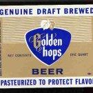 GOLDEN HOPS Draft Beer Label / 32oz.