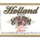 HOLLAND Premium Beer Label /7oz.