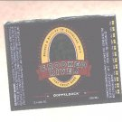 CROOKED RIVER Dopplebock Beer Label / 12oz